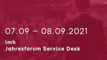 imh Forum IT Jahresforum Service Desk Sept 01 v2